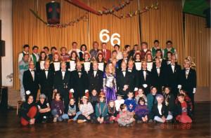 66-jähriges Jubiläum