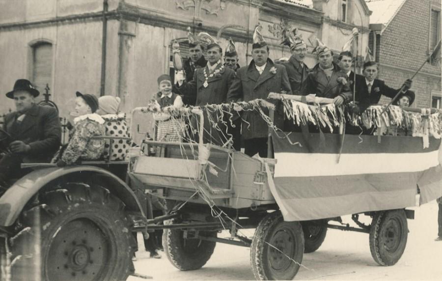 Umzug 1955